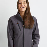 SJW Womens PRO2 Softshell Jacket - Front