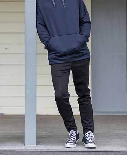 XTL Performance Trackpants - Black