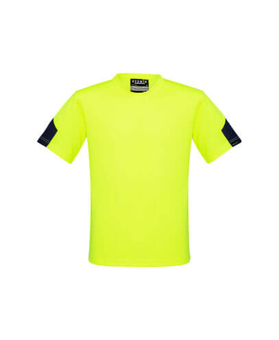 ZW505 Adults Hi Viz Squad T-Shirt - Yellow/Navy