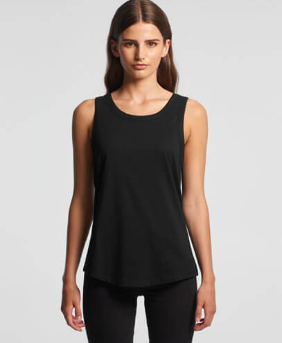 4004 Womens Sunday Singlet - Worn by Female Model