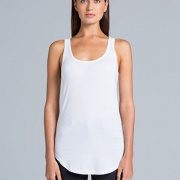 4007 Womens Dash Singlet - Front