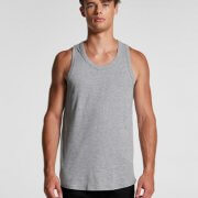 5004 Mens Authentic Singlet - Worn by Male Model
