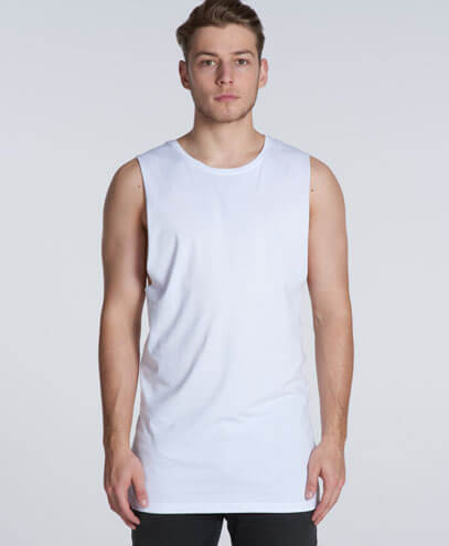 5033 Mens Tall Barnard Tank - Worn