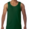 5200 Mens Basic Singlet - Forest Green
