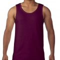 5200 Mens Basic Singlet - Maroon