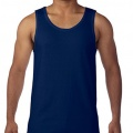 5200 Mens Basic Singlet - Navy