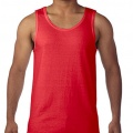 5200 Mens Basic Singlet - Red