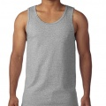 5200 Mens Basic Singlet - Sports Grey