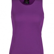7PS1 Womens Poly Singlet - Mulberry