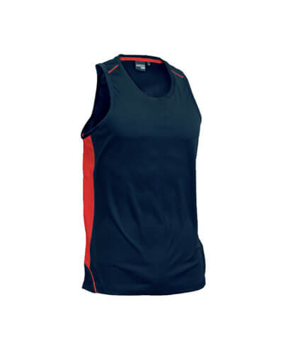 MPSK Kids Matchpace Singlet - Navy/Red