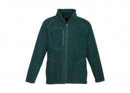 Custom Polyfleece Jacket in Forest Green
