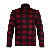 OKF Half Zip Fleece Jacket - Red