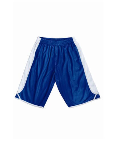 CK1224 Kids Basketball Shorts - Royal/White