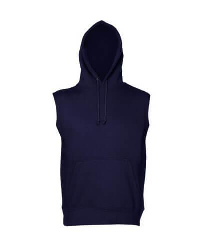 SLH Sleeveless Pullover Hoodie - Navy