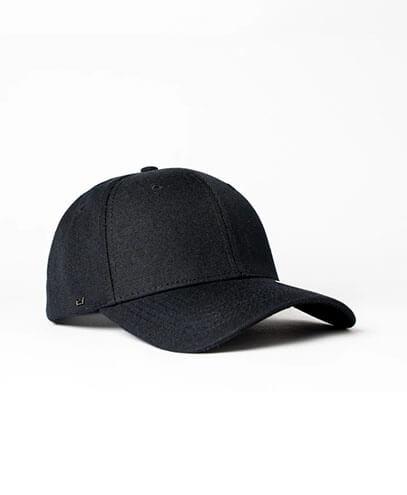 KU15608 Kids UFlex Pro Style 6 Panel Snapback Cap - Black