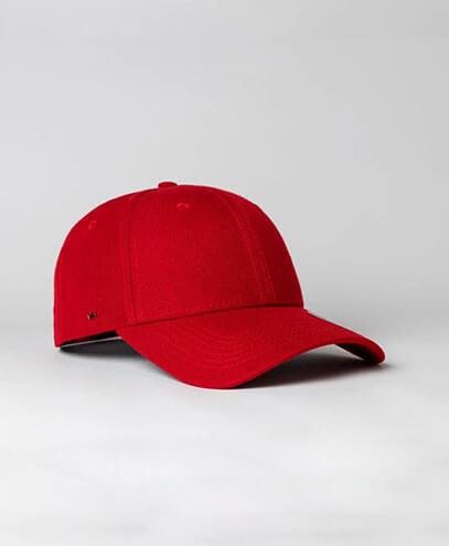 KU15608 Kids UFlex Pro Style 6 Panel Snapback Cap - Red