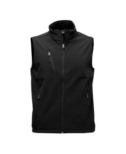 VSM Mens PRO2 Softshell Vest - Black