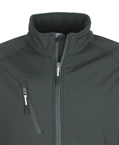VSM VSW - Contrast Zip Pull - Grey