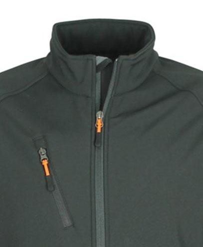 VSM VSW - Contrast Zip Pull - Orange