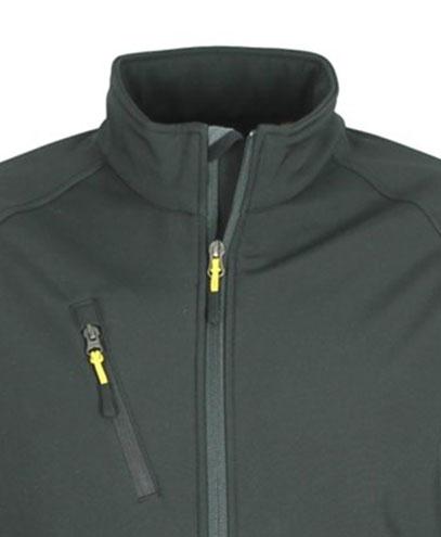 VSM VSW - Contrast Zip Pull - Yellow