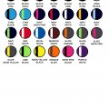 2111 Womens Tasman Singlet - Colour Chart