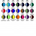 3111 Kids Tasman Singlet - Colour Chart