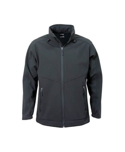 AJK Kids Aspiring Softshell Jacket - Black