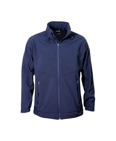 AJK Kids Aspiring Softshell Jacket - Navy
