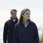 AJM Adults Aspiring Softshell Jacket - Worn by Male and Female Models