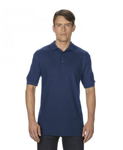 82800 Mens Polo - Navy on Male Model