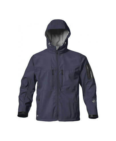 HS-1 Mens Epsilon H2Xtreme Softshell Jacket - Navy