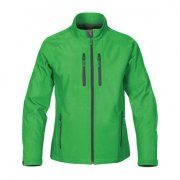 HSL-2W Womens Ellipse Softshell Jacket - Treetop Green/Black