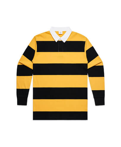 5416 Rugby Stripe Jersey - Black/Yellow