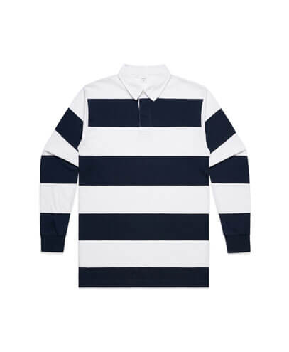 5416 Rugby Stripe Jersey - White/Navy