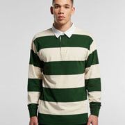 5416 Rugby Stripe Jersey - Worn by Male Model