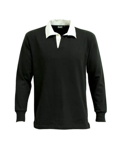 RJP Classic Rugby Jersey - Black