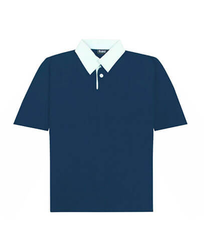 SS-RJP Short Sleeved Rugby Jersey - Navy
