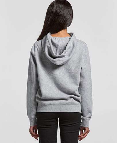 4102 Womens Stencil Hoodie - Back