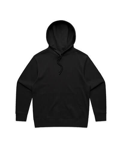 5146 Adults Heavy Hood - Black