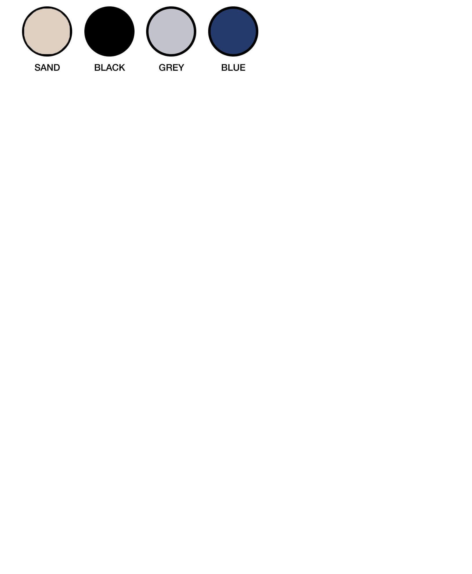 ZW120 Colour Chart