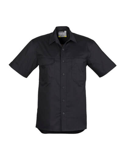 ZW120 Adults Light Weight Work Shirt - Black