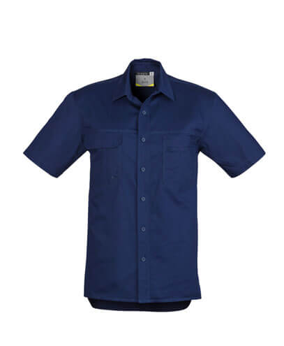 ZW120 Adults Light Weight Work Shirt - Blue