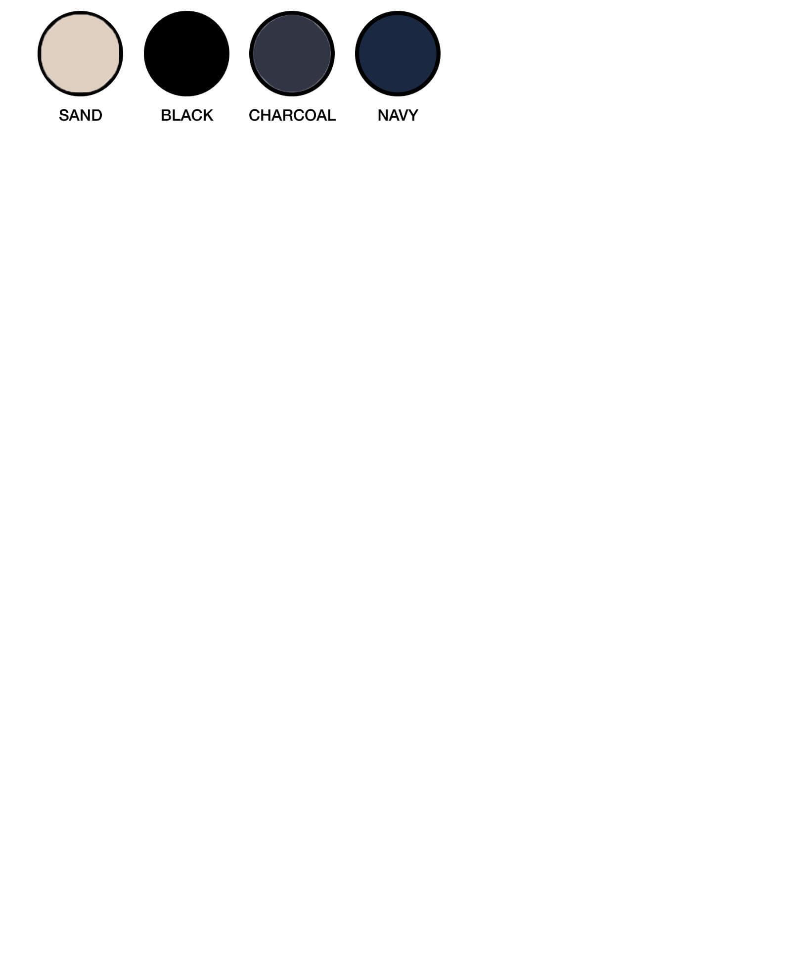 ZW405 Colour Chart