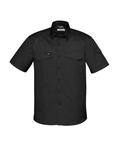 ZW405 Adults Rugged Cooling Work Shirt - Black