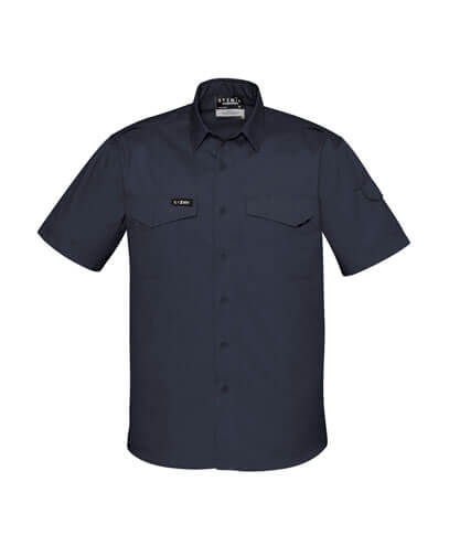 ZW405 Adults Rugged Cooling Work Shirt - Charcoal