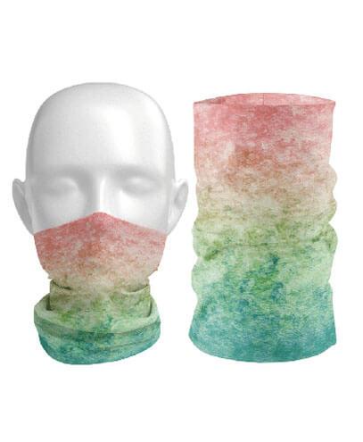 Sublimated Neck Gaiter - Rainbow
