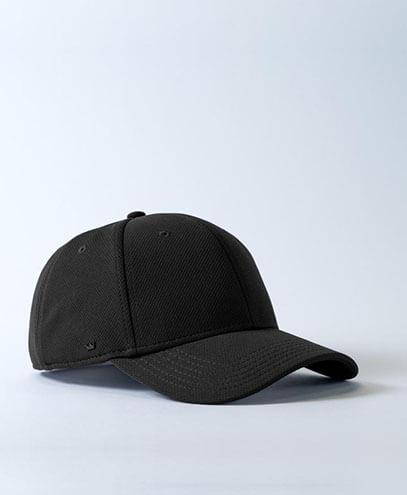 U20603 UFlex Recycled Polyester Cap - Black