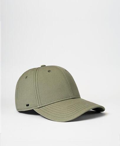 U20608RC Recycled Cotton Baseball Cap - Olive