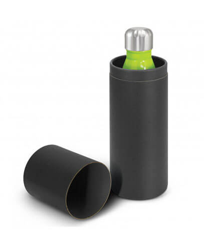 108574 Mirage Vacuum Bottle - Open Black Gift Tube
