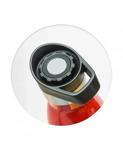 Mirage Vacuum Bottle - Push Button Lid Detail